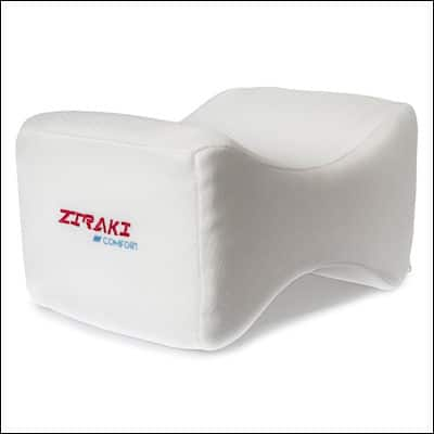ZIRAKI Memory Foam Orthopedic Knee Pillow review